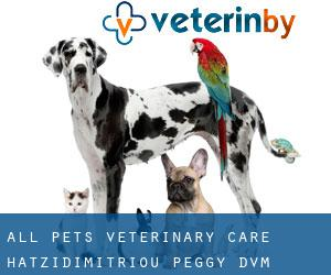 All Pets Veterinary Care: Hatzidimitriou Peggy DVM (Steinway)