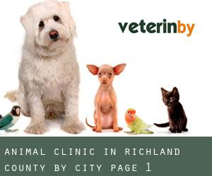 Animal Clinic in Richland County by City - page 1