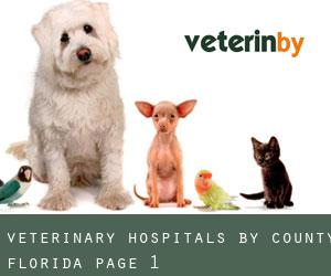 Veterinary Hospitals by County (Florida) - page 1